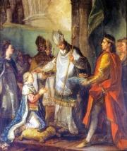 Le Sacre de saint Louis