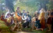 Saint Louis rendant la justice sous le chêne de Vincennes