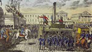 L'exécution de Louis xvi