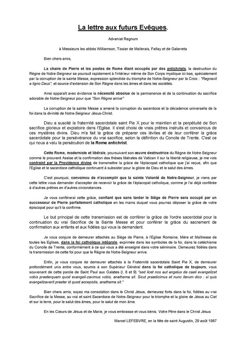 modele lettre a l u0026 39 eveque pour la confirmation