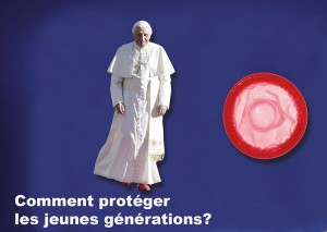 Benoît <abbr>XVI</abbr> favorable au préservatif