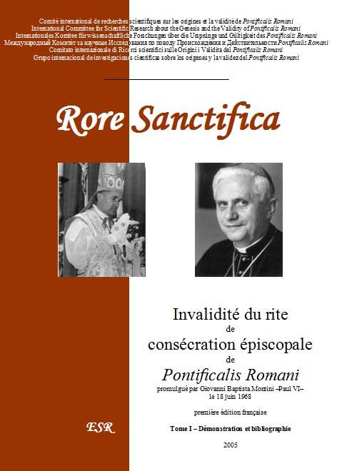 « <abbr>RORE</abbr> <abbr>SANCTIFICA</abbr> », Invalidité du rite de consécration épiscopale de Pontificalis Romani
