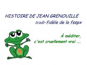 HISTOIRE DE <abbr>JEAN</abbr> <abbr>GRENOUILLE</abbr>