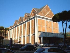 L'édifice moderniste de Chiesa di San Gregorio <abbr>VII</abbr> Papa al Gelsomino
