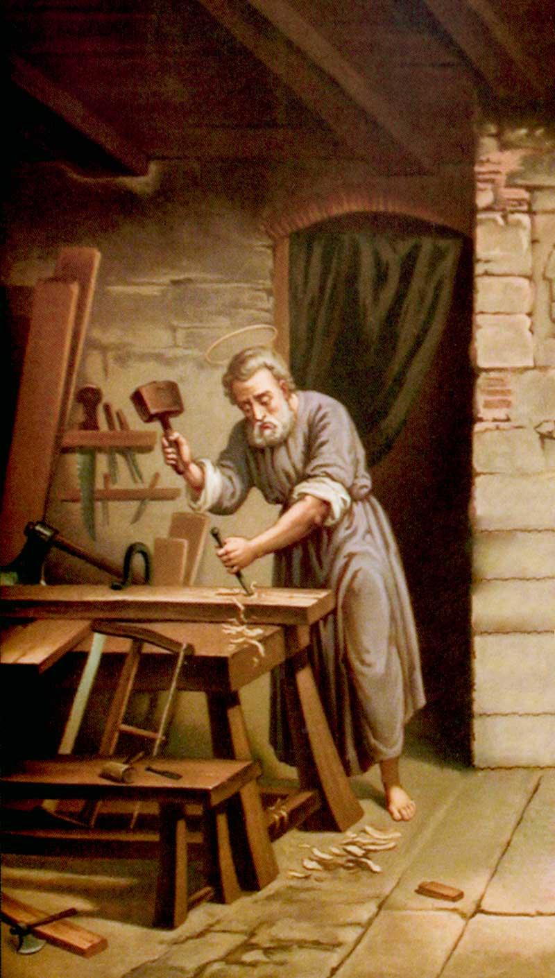 saint joseph artisan patron des travailleurs le catholicapedia blog. Black Bedroom Furniture Sets. Home Design Ideas