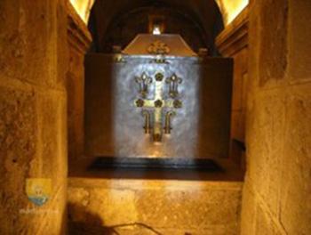 Reliques de saint Benoît à l'abbaye de Fleury