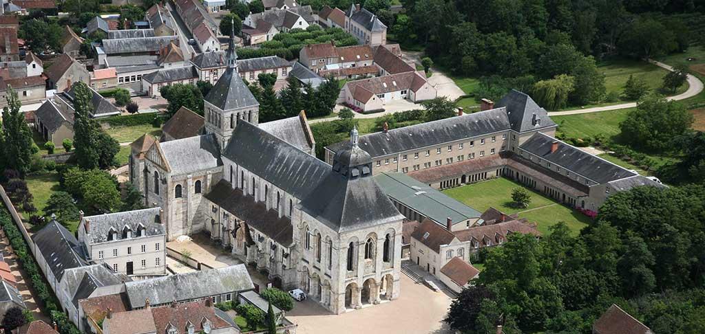 Abbaye de Fleury à Saint-Benoît-sur-Loire