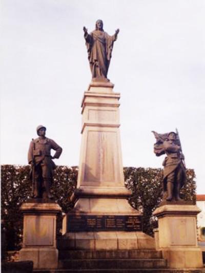 Monument aux Morts de St-Laurent-sur-Sèvre