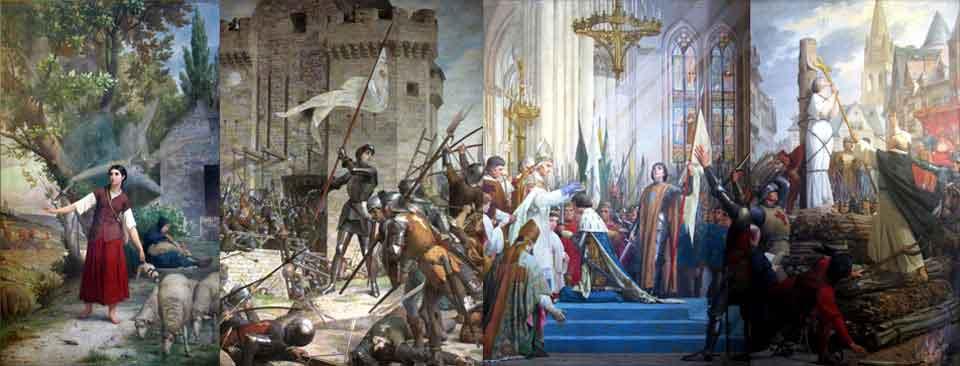 Tableaux de Jeanne d'Arc