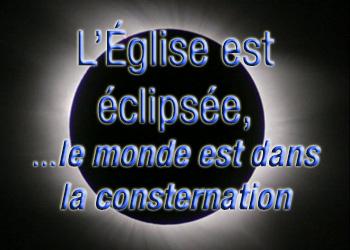 L'Eglise <abbr>EST</abbr> Éclipsée