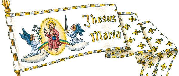 Étendard Jeanne d'Arc