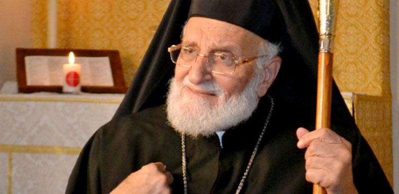 Le patriarche Grégoire <abbr>III</abbr> Laham