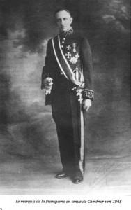 André Le Sage de La Franquerie de La Tourre (1901-1992) (de son nom de plume Marquis de La Franquerie)