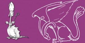 Willy-dinoscopus regarde sa queue