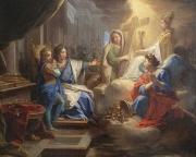 Blanche montrant à saint Louis la Religion