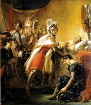 Mort de saint Louis devant Tunis