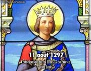 Canonisation de Louis IX de France, Saint Louis